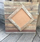 20X20 Cypress Diamond Pattern Cork Board