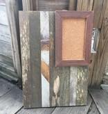 16x23 Cypress Panel Rectangle Cork Board