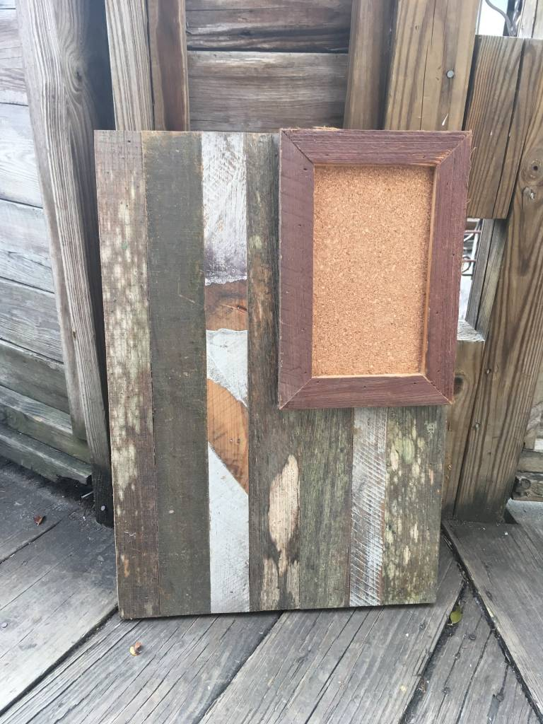 16x23 Cypress Panel Rectangle Cork Board