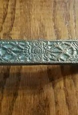 Vintage Green Etched Pull