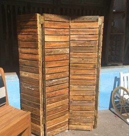 4 Panel Cypress Screen Divider