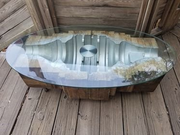 Industrial Mold Coffee Table