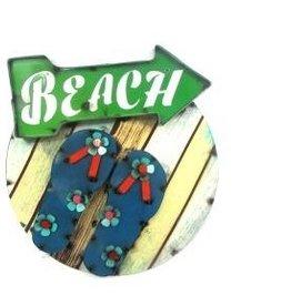 Beach Sandles Screen