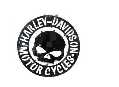 Harley Davidson Skull Screen
