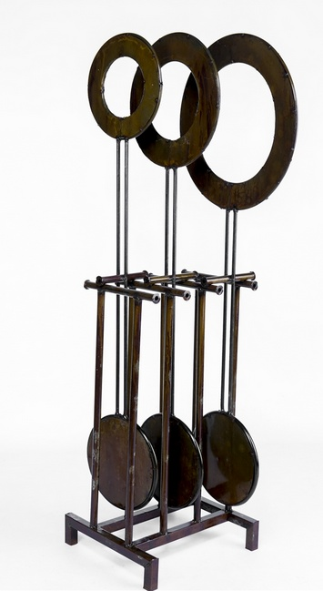 "Medium Pendulum  41""H x 14""L x 9""W"
