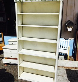 White Tall Bookcase
