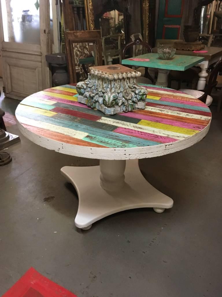 """Multicolor Spool Table 48"""""""