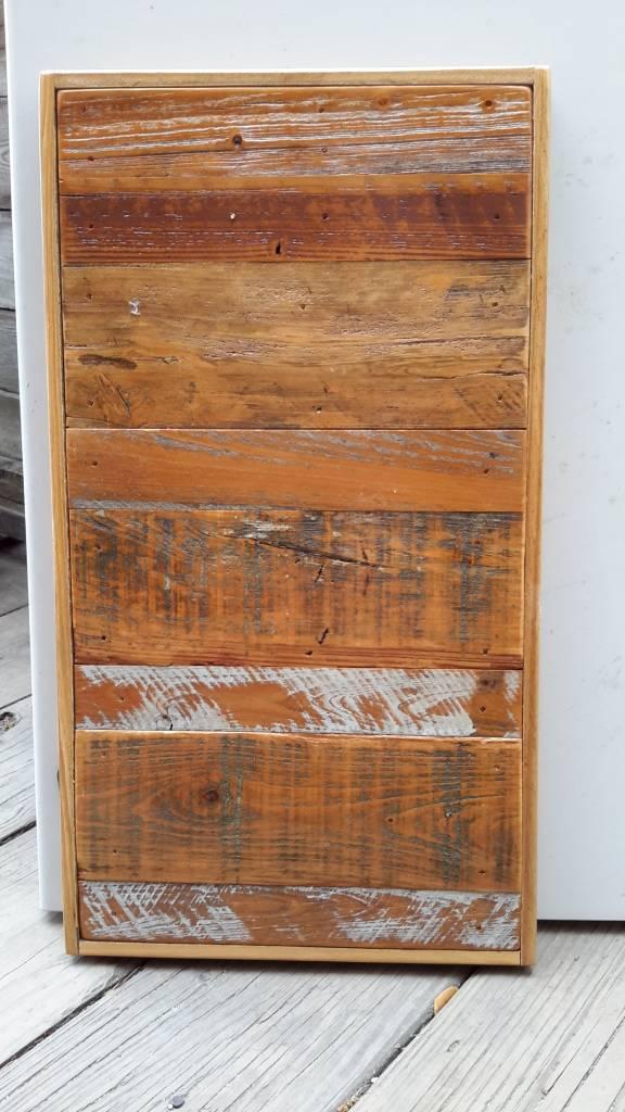 Salvaged Cypress Straight Panel 12x22