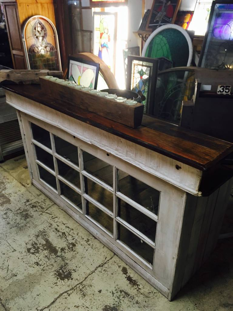 12 Pane Window Door Bar