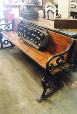 Industrial Folding Bench Table