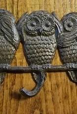 Owl Triple Hook