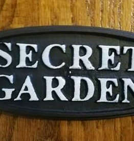 Secret Garden Plaque