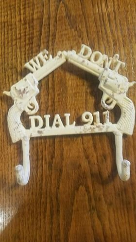 We Dont Dial 911 Double Hook