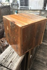 Reclaimed Cypress 10x10x10 Cube