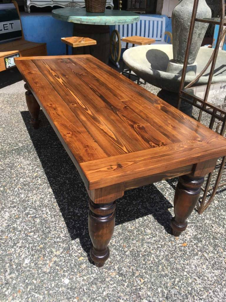 Superieur Cypress Dining Table W/ Turned Legs 30x32x82