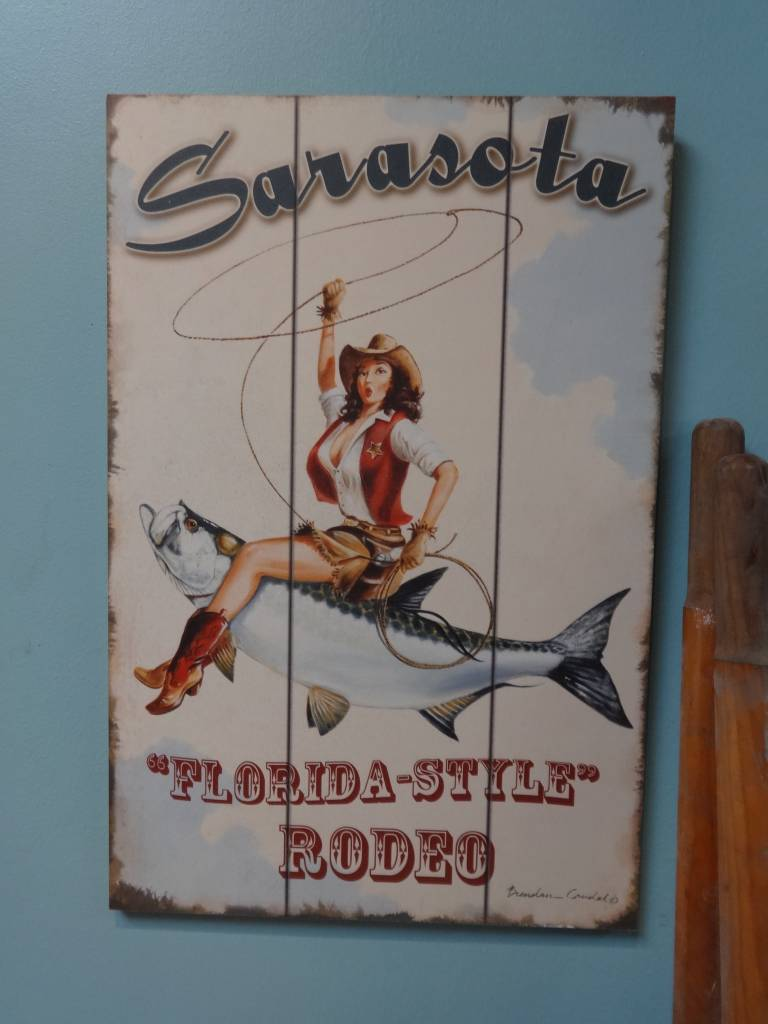 Coudal Florida Style Rodeo Print