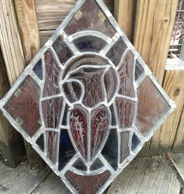 Diamond Falcon Stained Glass