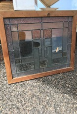 Framed Beveled Glass