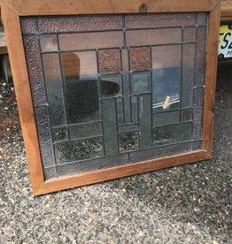 Framed Beveled Glass