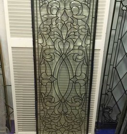 Leaded Glass Panel D 22x64