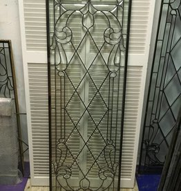 Leaded Glass Panel E 22x64