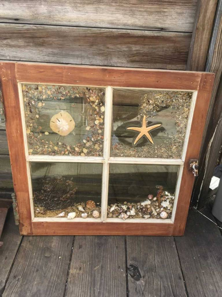 Large Nautical Window Collage C
