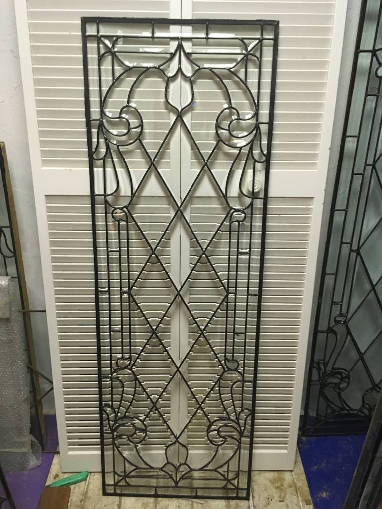 Leaded Glass Panel G 22x64