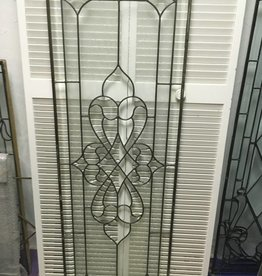 Leaded Glass Panel I 22x64