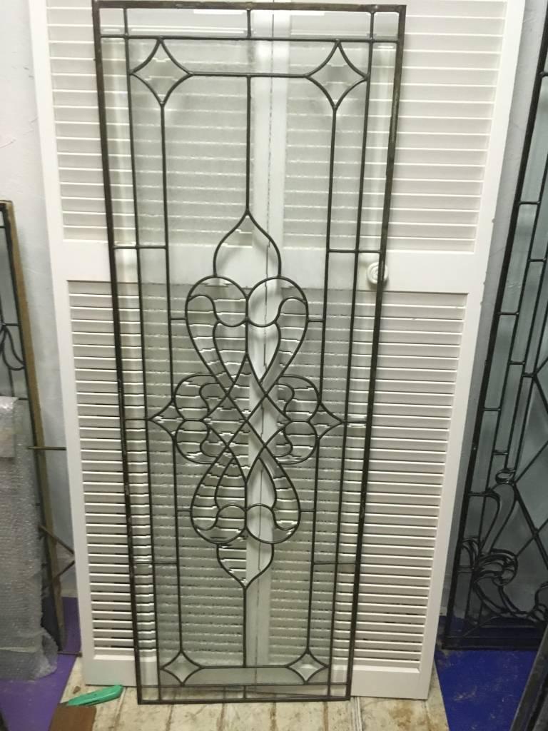Leaded Glass Panel I 22x64
