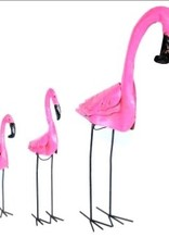 "Md Tin Flamingo  35"" H x 21"" L"
