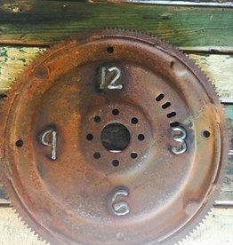 Gear Welded Clock Display 14x14