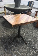 Cypress Angled Table w/ Industrial Base 23x28