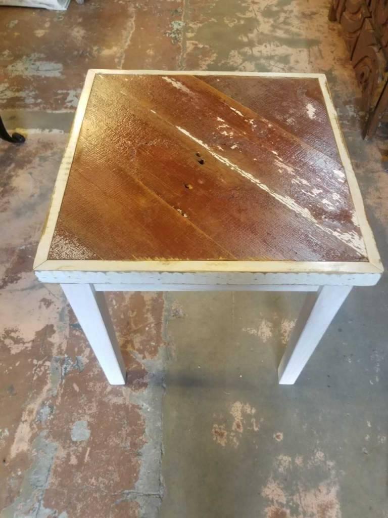 Reclaimed Barn Wood Side Table 21 5 X