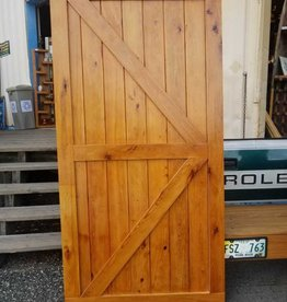 "Reclaimed Pine Barn Door 42"" X 84"""