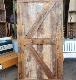 """Reclaimed Pine Barn Door  42"""" X 84"""""""