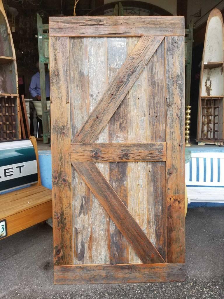 Reclaimed Pine Barn Door 42 X 84 Sarasota