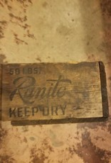 Vintage Wood Crate Vintage Ammo Crate Old Wood Amunition Box 1940s Wood