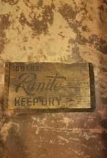1940s Vintage Wooden Ranite Electrode Box