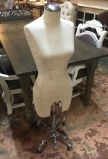 Large Mannequin Dress Form w/ Casters