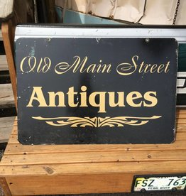 Old Main Street Antiques Sign