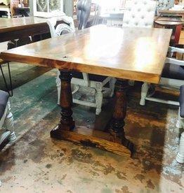 Trestle Base Cypress Table 6x36