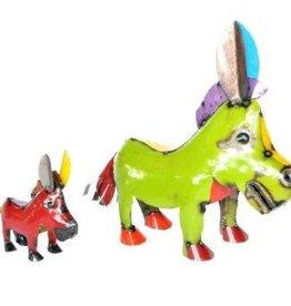 """LG Big Head Donkey 20"""" H x 26"""" L"""