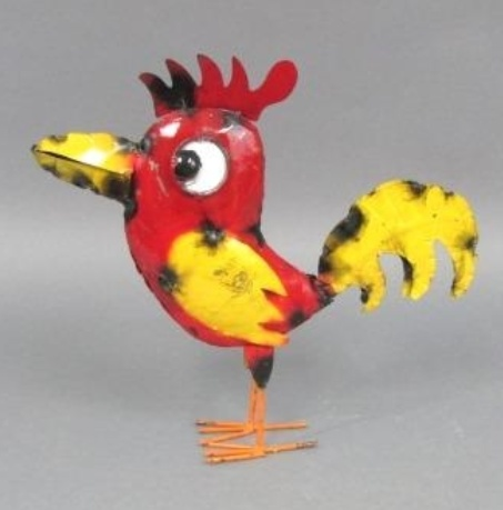 """Cartoon Baby Rooster 14""""H x 16""""L x 3""""W"""