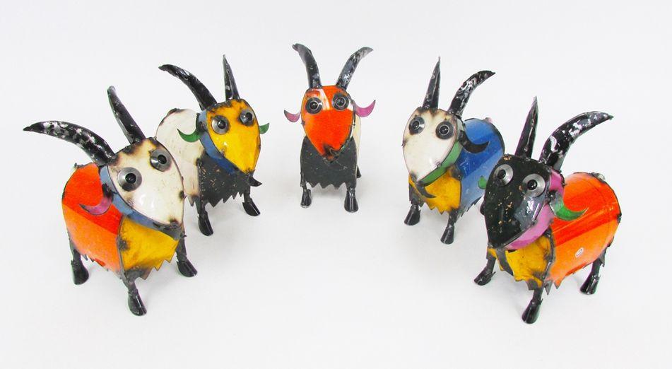"""Mini Goat 9.5""""H x 4""""W x 8""""L"""