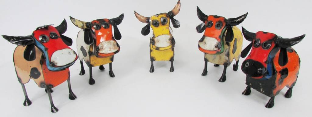 """Mini Cow 9""""H x 11""""L x 7""""W"""
