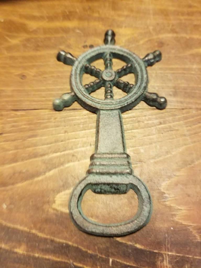 Ship Wheel Bottle Opener