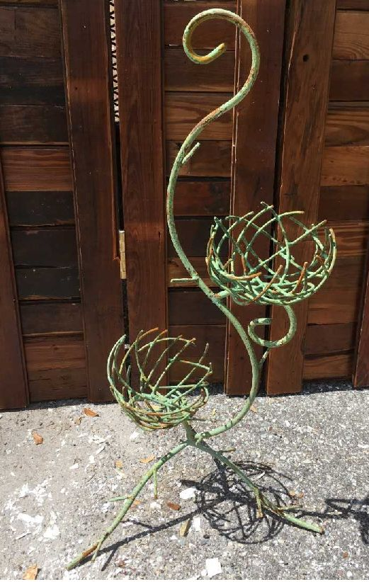 Birds Nest Double Planter