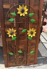 5 SunFlower Fence Trellis