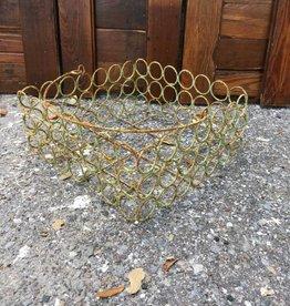 Sm Circle Wire Basket