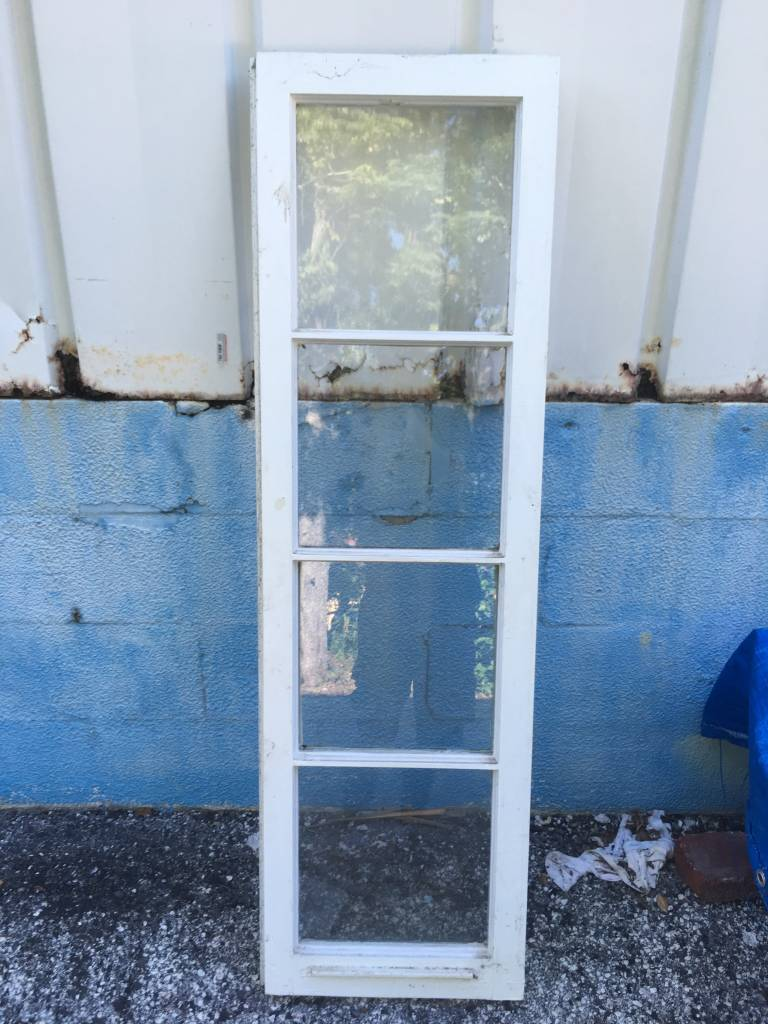 4 Pane Vertical Window 16x53